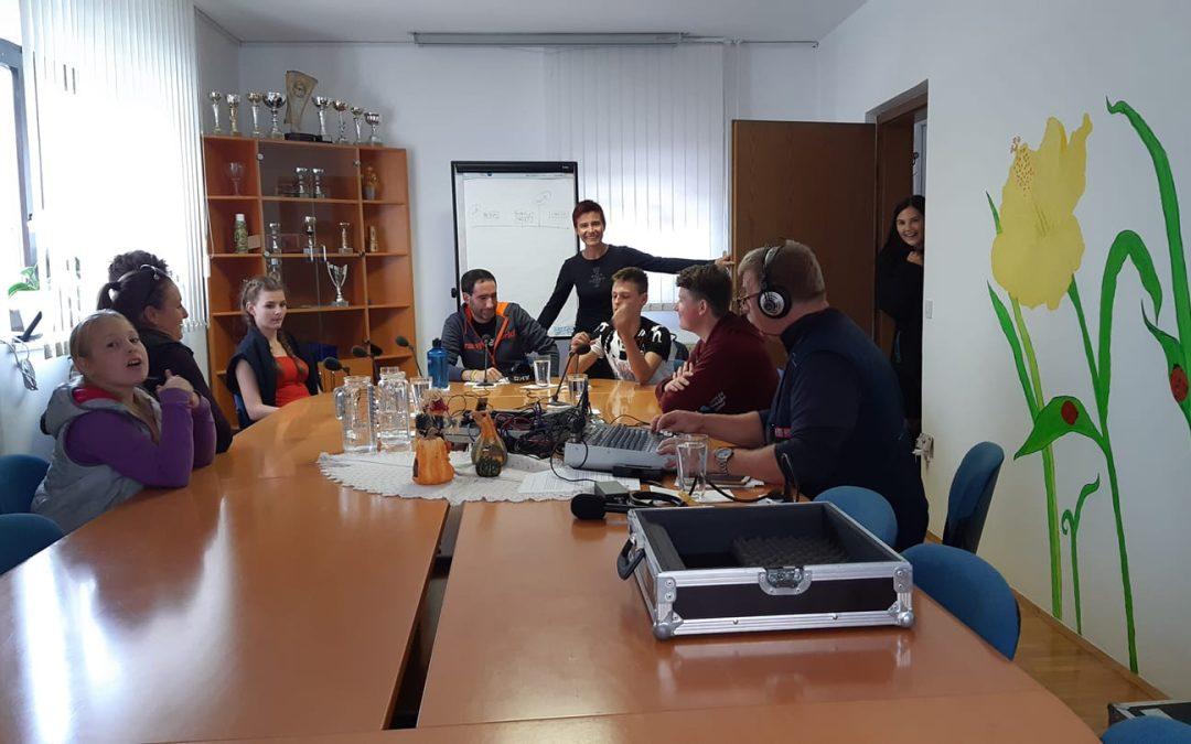 Pohodniki na poti Alpe-Adria 2019 na Radio PRVI